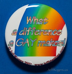 What a difference a gay makes!